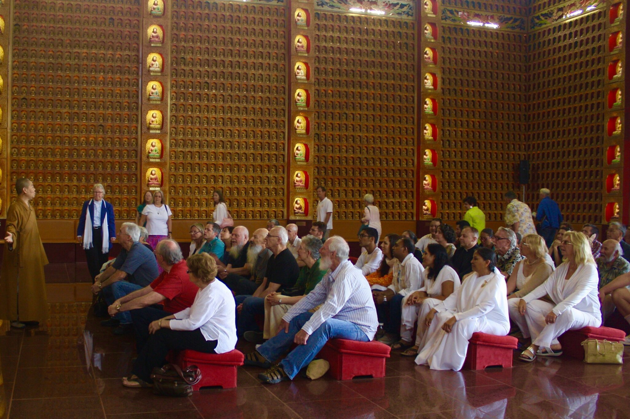 Buddhist Rituals in the Main Hall