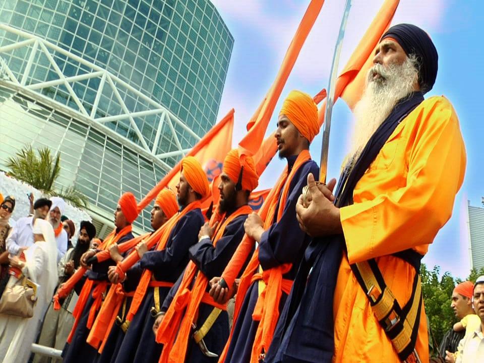 Sikhs on Baisakhi Day