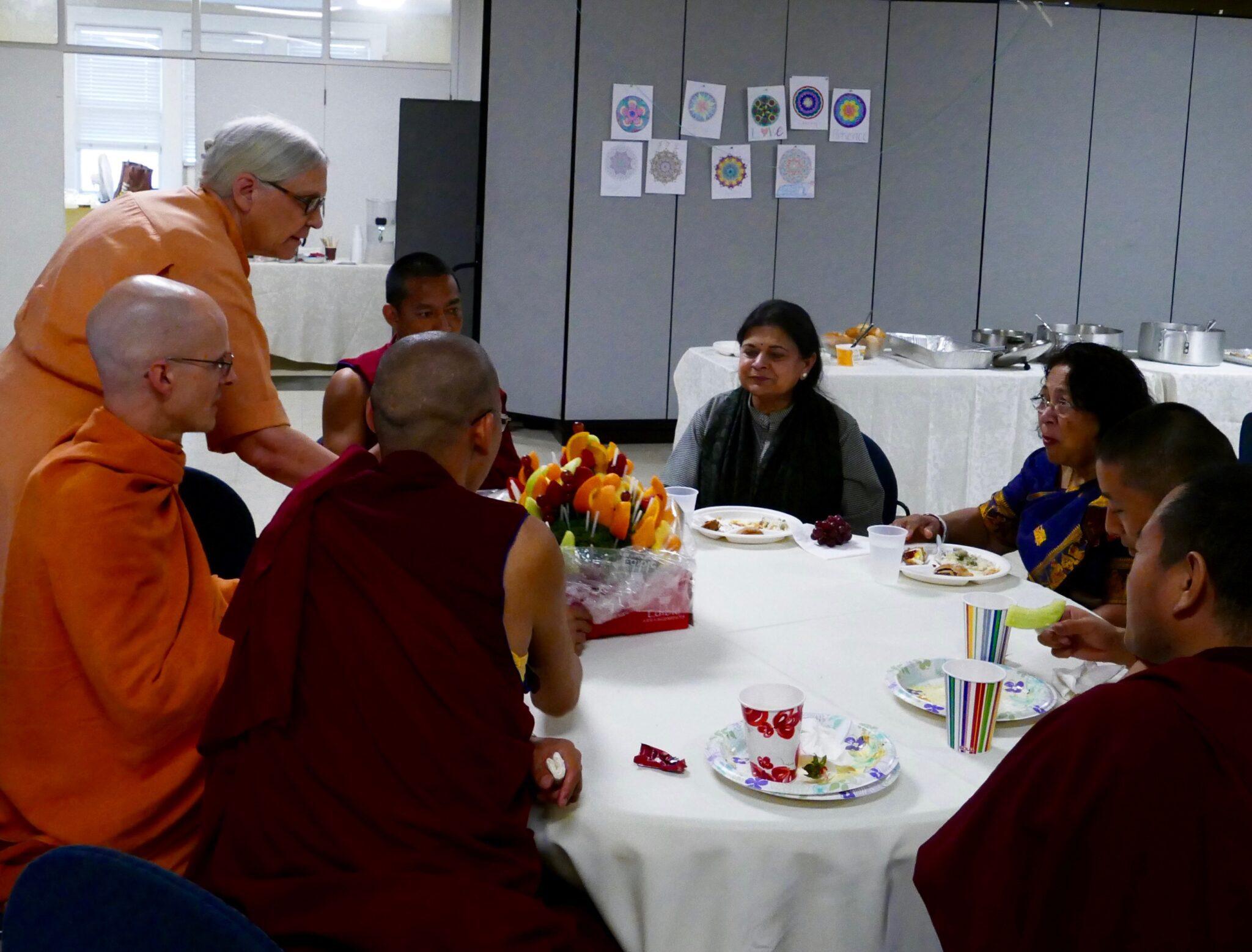 Rini Ghosh Vedanta Society and Monks
