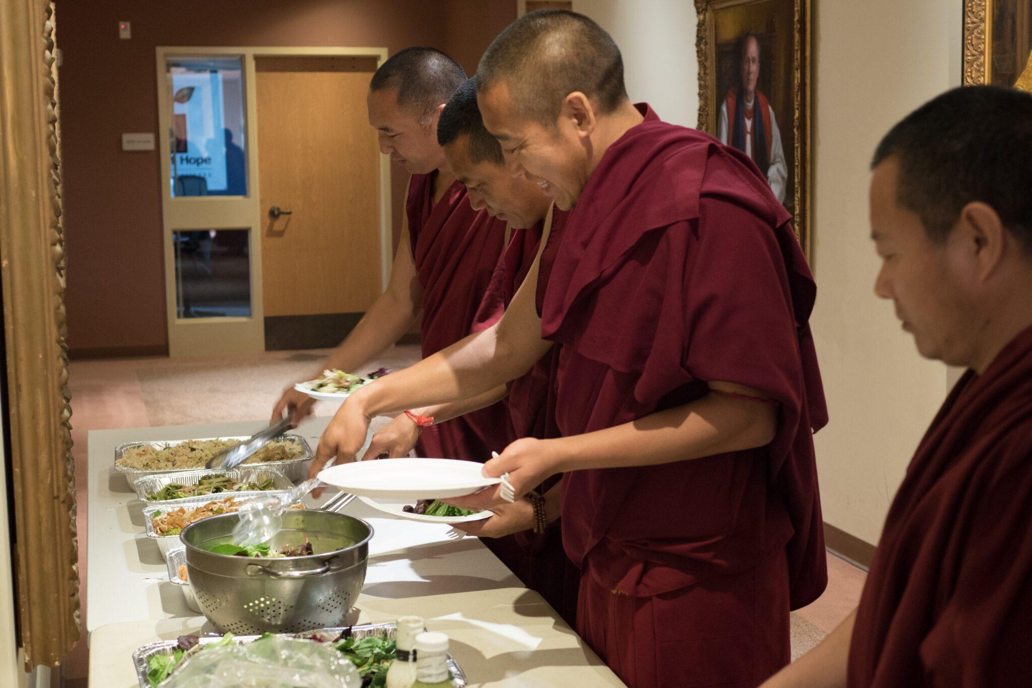 Feeding the Monks