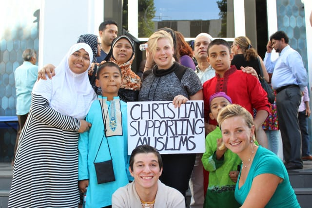 Standing Together Christian Muslim Youth