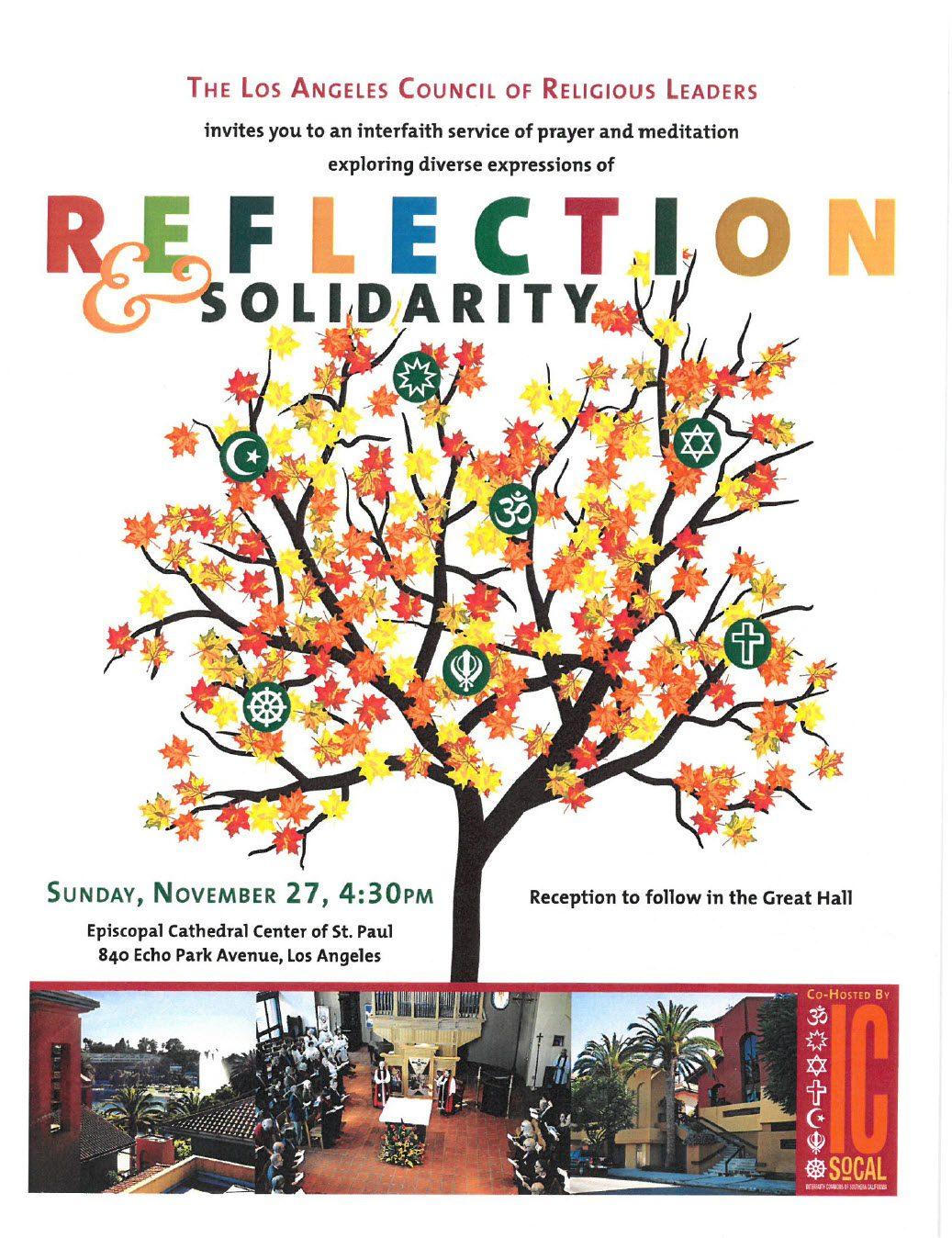 Reflection and Solidarity Program