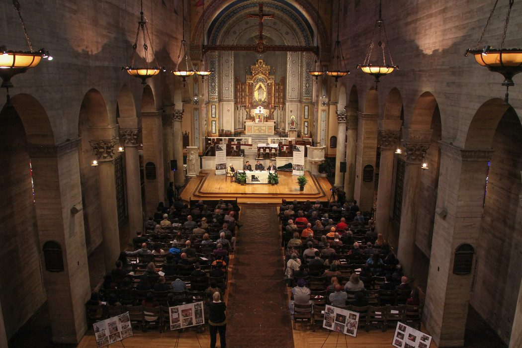 Life After Death panel at St. John's Cathedral
