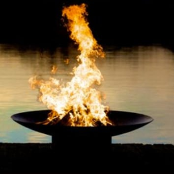 Zoroastrian Fire Symbol