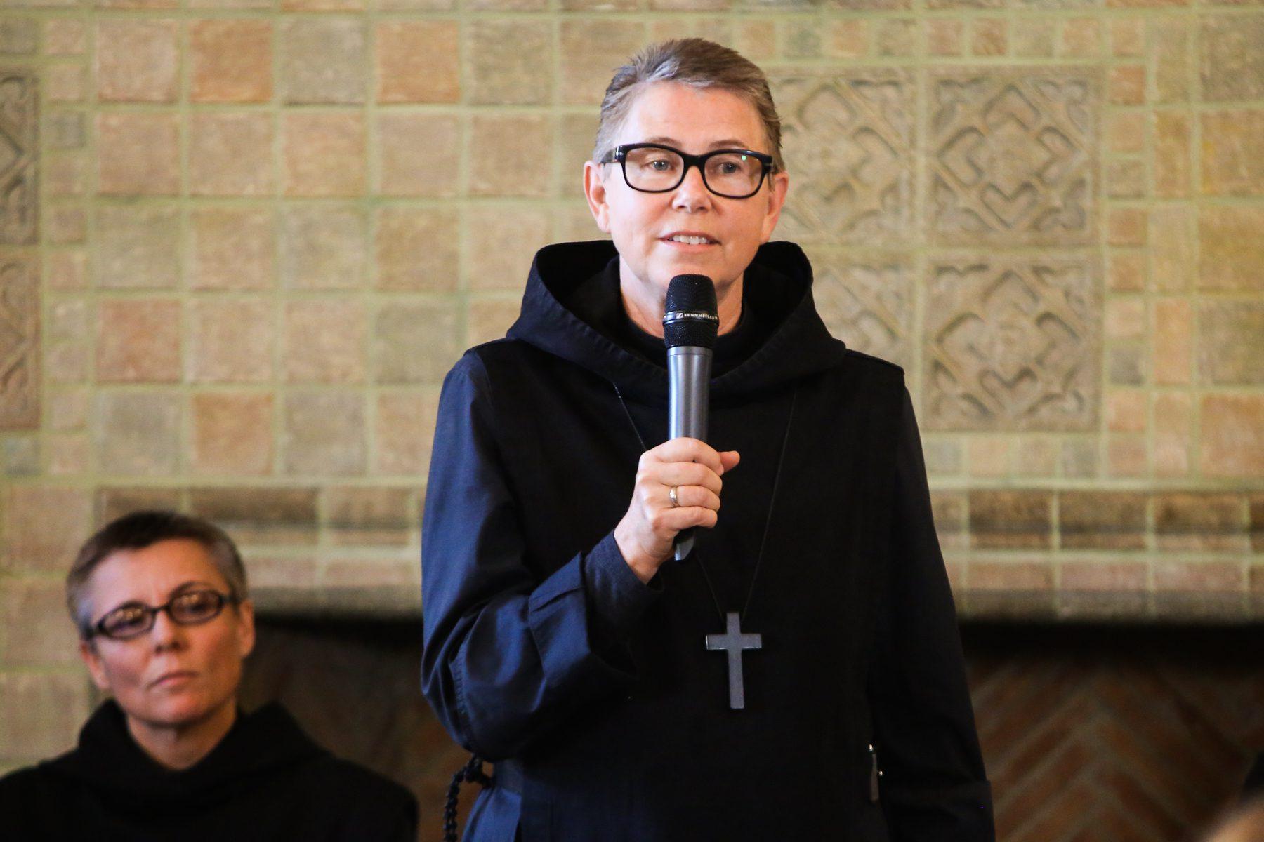 Sr. Greta Ronningen prison chaplain
