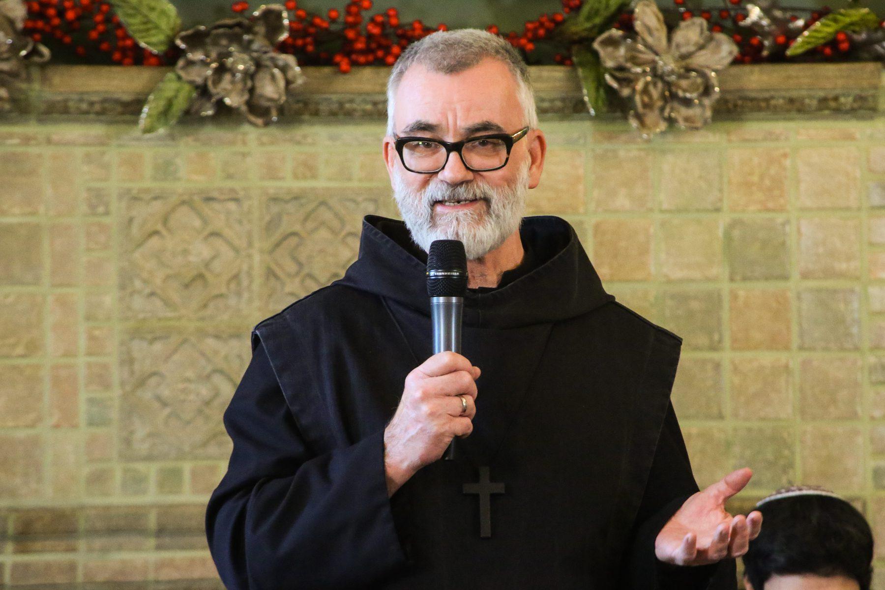 Br. Dennis Gibbs prison chaplain
