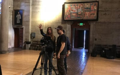 Day One Filming – St. John's Episcopal Cathedral