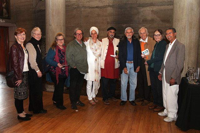 interfaith leaders attending the raimon panikkar presentation