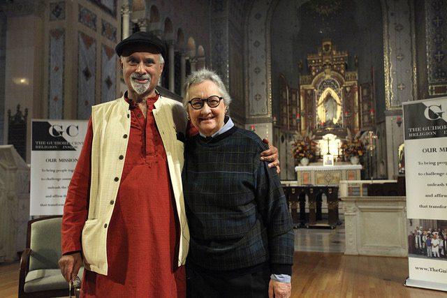 Dr. Joseph Prabhu and Dr. Gwynne Guibord