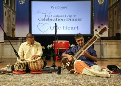 Pre-Dinner Music by Varuna Gunarkera on Tabla, Dinker Patel on Sitar