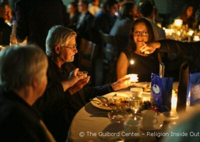 Transformative Engagement: Lighting individual candles that together bring light to the entire group