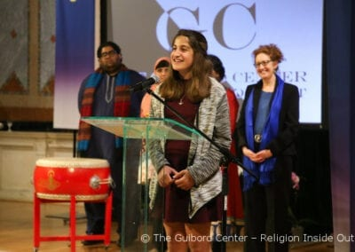 Zoroastrian Yekta Hormozdiari speaks about her participation in the Children, Youth and Young Adults initiative
